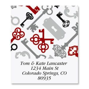 Keyed Up  Select Address Labels