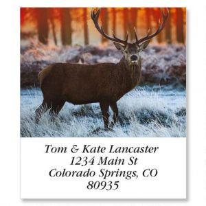 Deer Select Address Labels