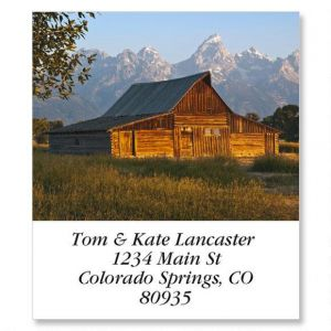 Mormon Row Barn Select Address Labels