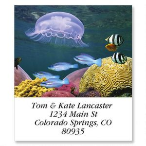 Jelly Fish Select Address Labels