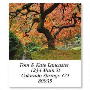Japanese Maple Select Address Labels