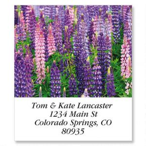Lupine Select Address Labels
