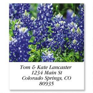 Blue Bonnets Select Address Labels