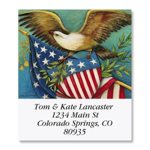 Eagle and Shield Select Address Labels