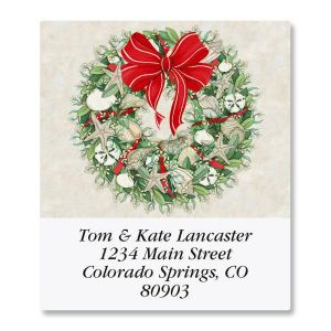 Coastal Wreath Select Address Labels