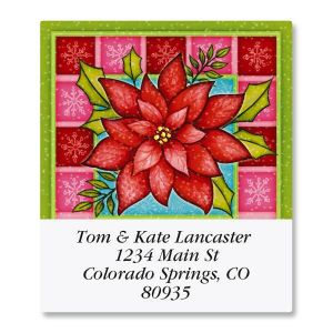 Red Bloom Select Address Labels
