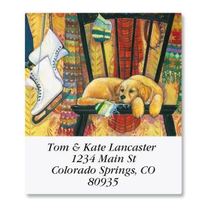 Peaceful Pup Select Address Labels
