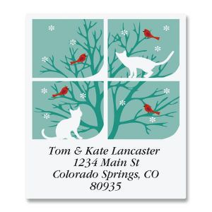 Snow Cats Select Address Labels
