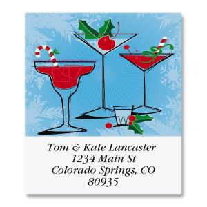 Holiday Spirits Select Address Labels