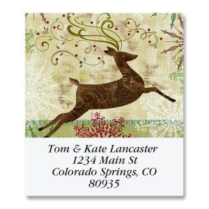 Regal Reindeer Select Address Labels