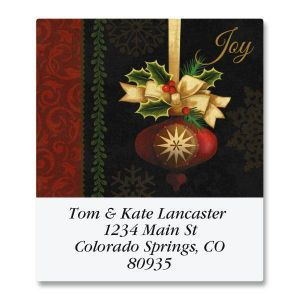 Joyful Ornament Select Address Labels