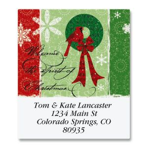 Christmas Spirit Select Address Labels