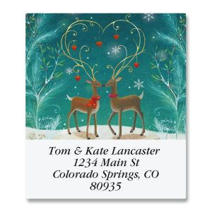 Adorned Antlers Select Address Labels