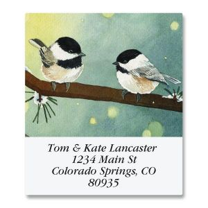 Pine Birds Select Address Labels