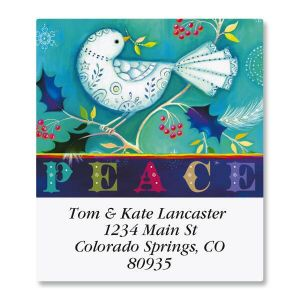 Prismatic Peace Select Address Labels