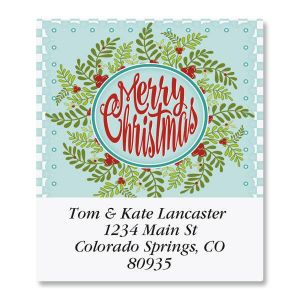 Quilted Greetings Select Address Labels