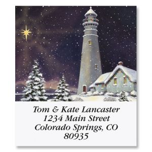 December Light Select Address Labels