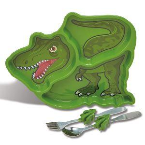 Dinosaur Children's Meal Plate Set