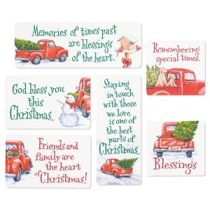 Red Truck Magnets