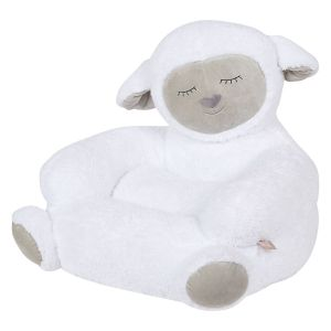 Plush Sherpa Lamb Children's Character Chair