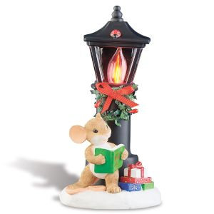 Christmas Lamp Post Nightlight by Charming Tails®