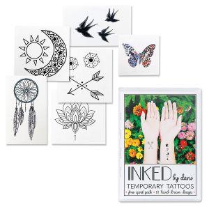 Free Spirit Temporary Tattoo Pack