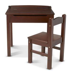 Wooden Lift-Top Desk & Custom Chair by Melissa & Doug®