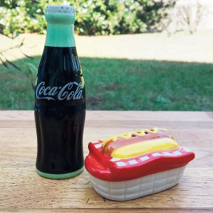 Coca Cola® Salt and Pepper Shakers