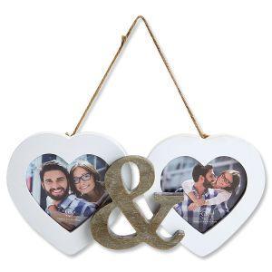 Double Heart Frame
