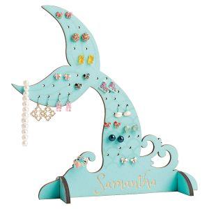 Custom Mermaid Tail Jewelry Stand