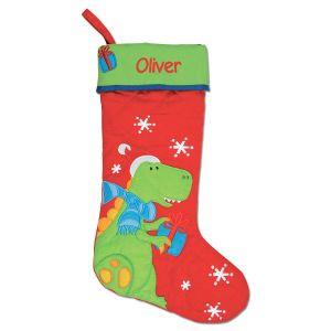 Dino Custom Christmas Stocking by Stephen Joseph®
