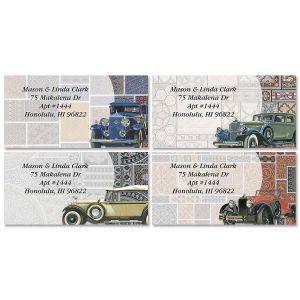 Classics Border Address Labels  (4 Designs)