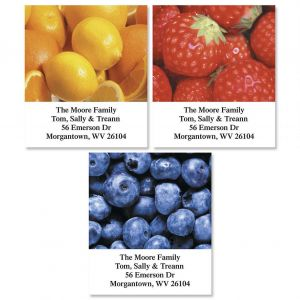 Fresh Fruit  Bookplates  (3 Designs)