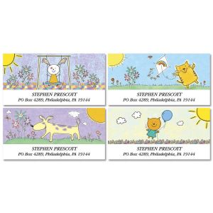 Smile Deluxe Address Labels  (4 Designs)
