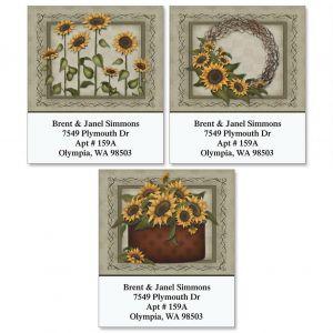 Angela's Flowers Select Address Labels  (3 Designs)