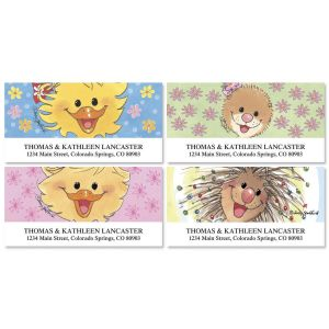 Suzy's Zoo® Deluxe Address Labels  (4 Designs)