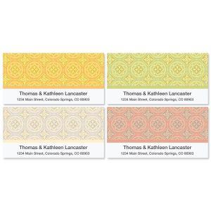 Italian Tile Deluxe Address Labels  (4 Designs)