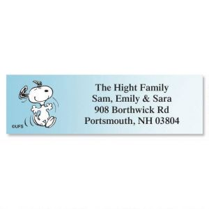 PEANUTS® Poses Classic Address Labels  (5 Designs)