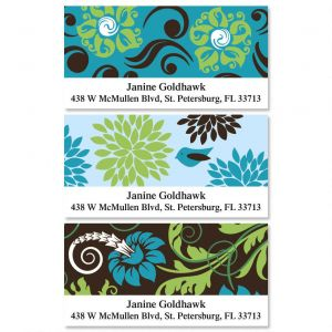 Razzle Dazzle Deluxe Address Labels  (3 Designs)