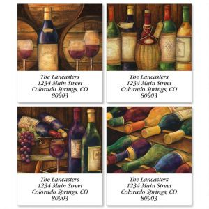 Wine Cellar Select Address Labels  (4 Designs)