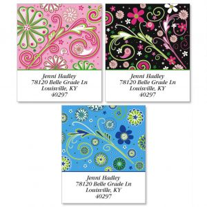 Fun Patterns Select Address Labels  (3 Designs)