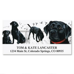 Dog Breed Deluxe Return Address Labels  (15 Designs)