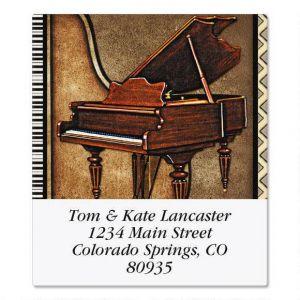 Music  Select Address Labels  (6 Designs)