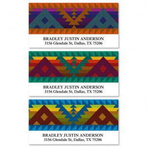 Geronimo Deluxe Address Labels  (3 Designs)