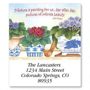 Gardening Year Round Select Address Labels  (12 Designs)