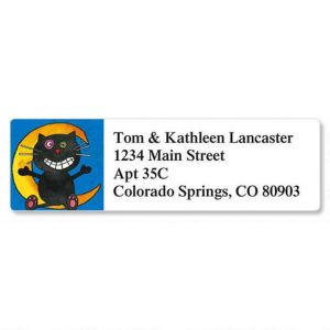 Fun Halloween Classic Address Labels  (6 Designs)