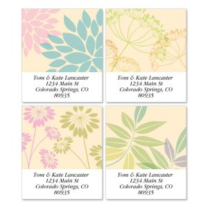 Bella Silhouette Select Address Labels  (4 Designs)