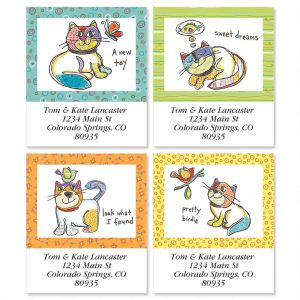 Pretty Birdie Select Address Labels  (4 Designs)