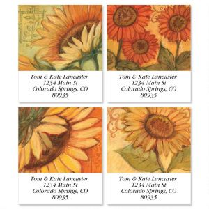 Tuscan Sunflower Select Address Labels  (4 Designs)