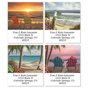 Coastal Dreams Select Address Labels  (4 Designs)